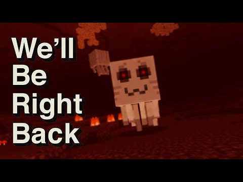 We'll Be Right Back Very Strange In Minecraft Compilation