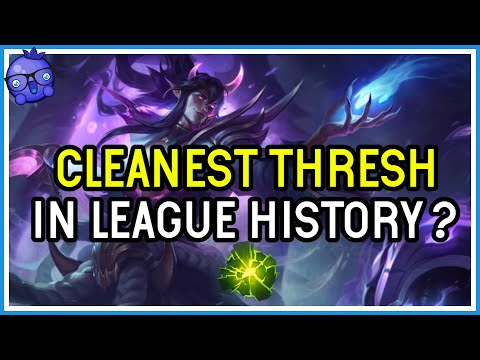 The cleanest Thresh game you will EVER see! High ELO - League of Legends