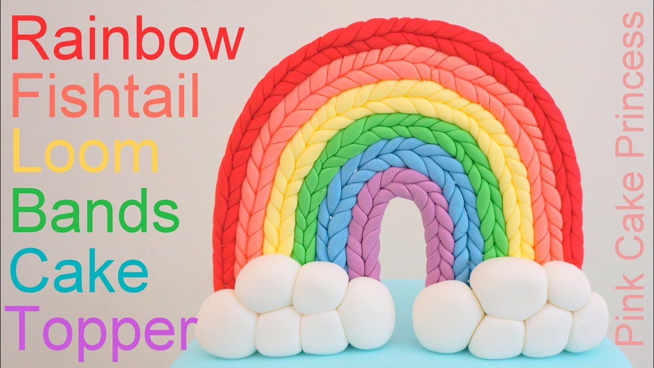 Rainbow Loom Cake Images
