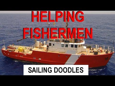 Setting Fish Aggregating Devices - Sailing Doodles Maintenance Monday