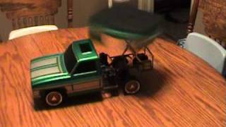 Cover images MARCUS' CUSTOM R/C LOWRIDER TRUCK W/ HYDRAULICS