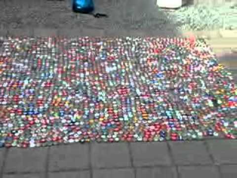 Fußboden Aus Kronkorken ~ Fußboden aus kronkorken bodenbelag aus münzen münzen penny one