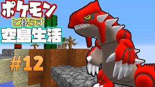 【Minecraft】ポケモンと暮らす空島生活#12【ゆっくり実況】【ポケモンMOD】