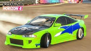 รถไบรอันใน Fast ภาคแรก (Mitsubishi Eclipse GSX Forza Horizon 4)