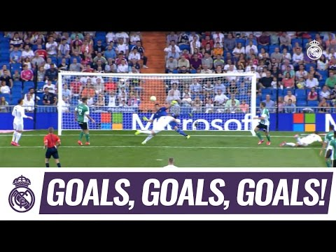 Karim Benzema loves a goal against Betis!