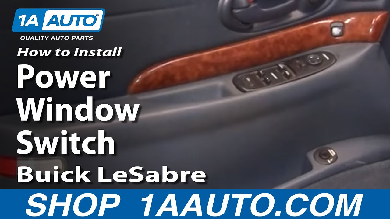 How To Replace Power Window Switch 00-05 Buick LeSabre - YouTube  Buick Lesabre Ddm Need Wiring Diagram on