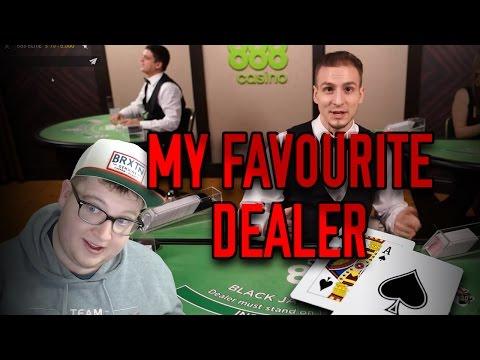 LIVE blackjack session with my favorite dealer!