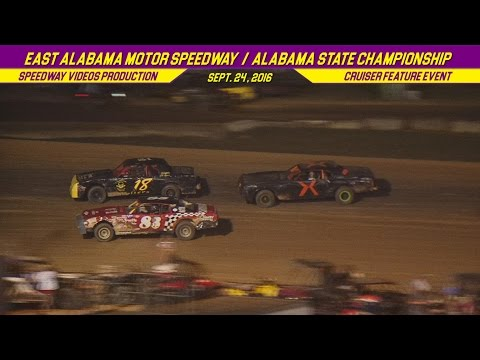 Crusier Feature | East Alabama Motor Speedway | Sept  24 , 2016