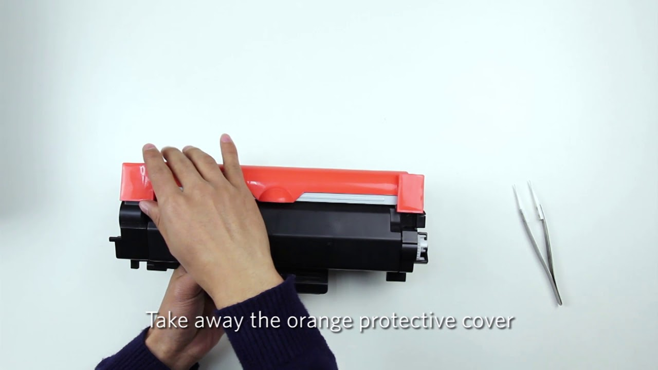 How to replace the chip of Brother TN760 toner cartridge