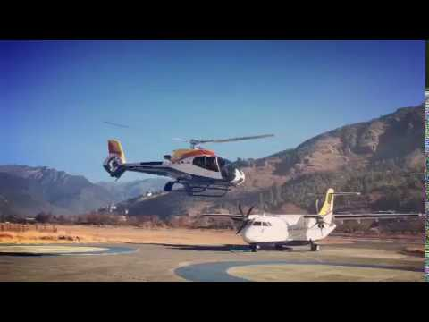 Bhutan Helicopter tour by Always Bhutan Travel