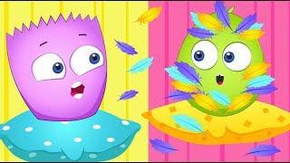 Op & Bob Full Episode Compilation   NEW   Funny Cartoons for Kids