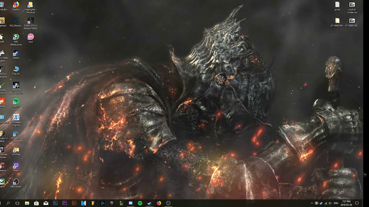 Soul Of Cinder Animated Wallpaper With Music Ds3