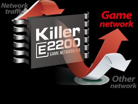 Killer e2200 game networking driver download