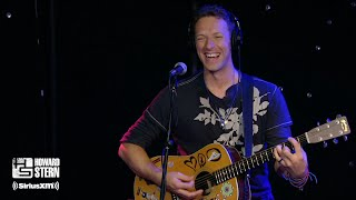 "Chris Martin ""Viva la Vida"" (Acoustic) on the Howard Stern Show (2016)"