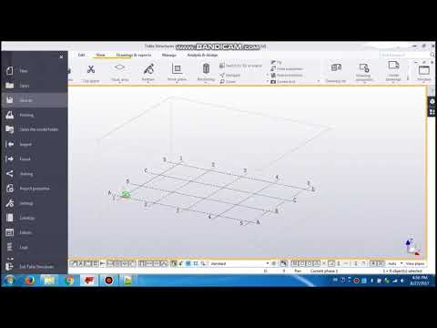 Tekla structures tips - wire frame