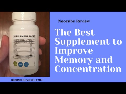 Noocube Review - Best Natural Nootropics Supplements to Improve Memory and Concentration