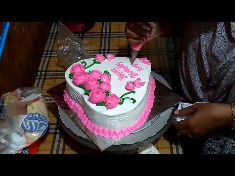 Cara Membuat Kue Ultah Love 01 Kue Ultah Pusat