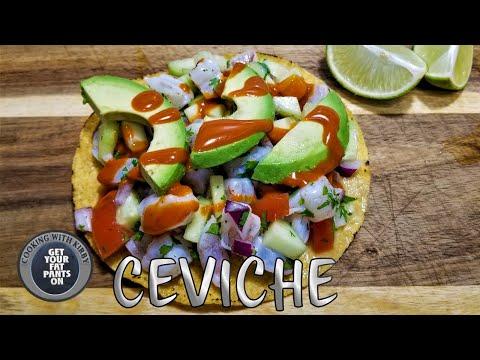 Shrimp Ceviche Tostadas – Ceviche de Camaron – Mexican Food