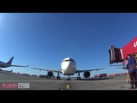 CSA Airplane at Sheremetyevo International Airport HD