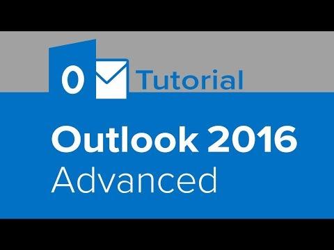 Outlook 2016 Advanced Tutorial