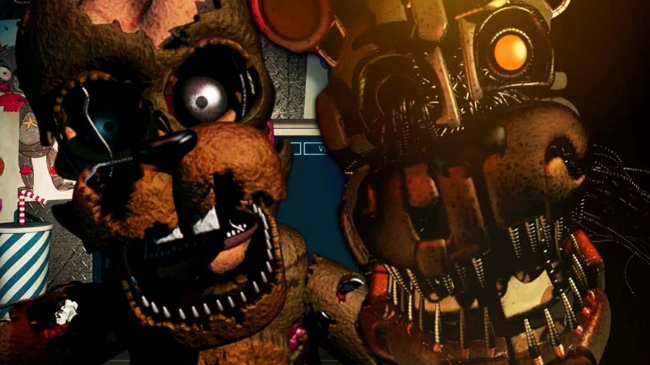 FNAF 6 SALVAGED SPRINGTRAP JUMPSCARE!! | Freddy Fazbear's Pizzeria Sim  (Five Nights at Freddys 6)