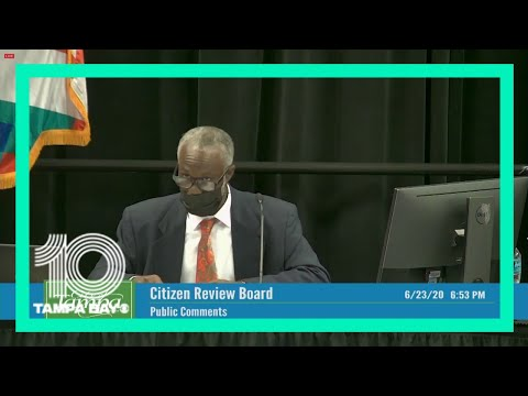 Tampa's citizen review board meets for first time since protests began