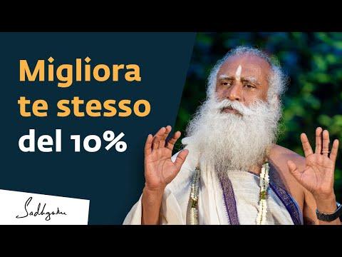 Migliora Te Stesso Del 10% | Sadhguru Italiano