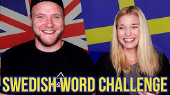 Funny Swedish Words Translated to English w/ Dave Cad
