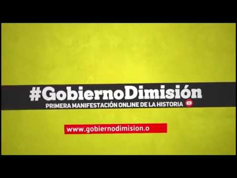 Manifestación Gobierno Dimisión