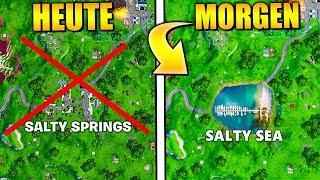 Salty Springs wird GELÖSCHT 🔥 NEUER Ort Leaked   Fortnite Deutsch