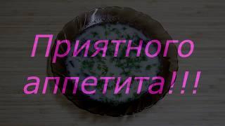 Простой рецепт. Грибной суп с плавленым сыром.
