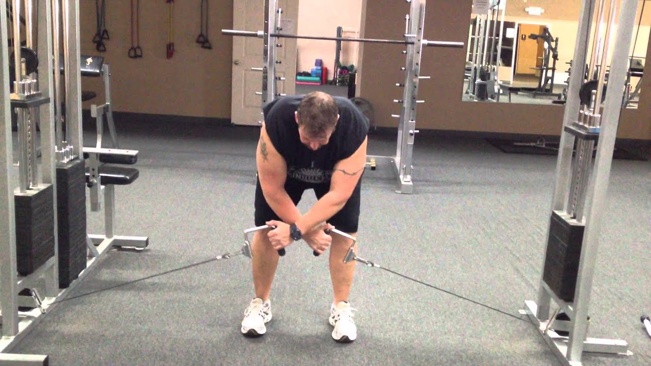 bentover cable rear lateral raise youtube