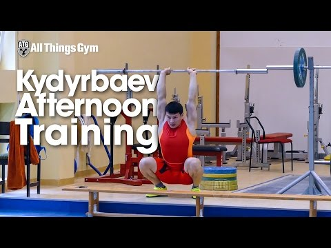 Zhassulan Kydyrbaev Afternoon Training with Slow Motions