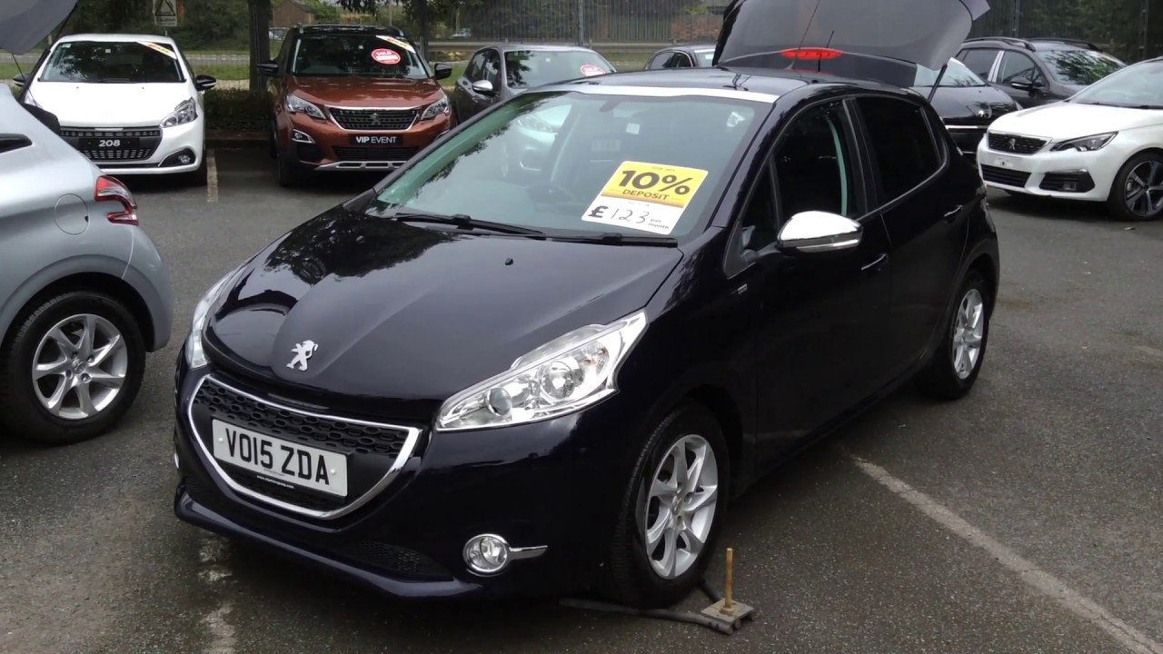 2015 Peugeot 208 1 4 Hdi 68 Style Vo15 Zda At St Peters Peugeot Worcester Youtube