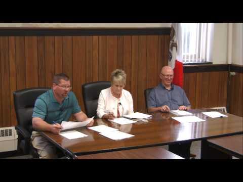 Hardin County Board of Supervisors Meeting 7-27-2016