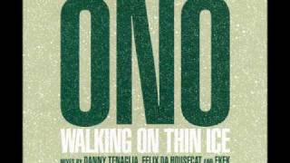 Yoko Ono Walking on Thin Ice Remix