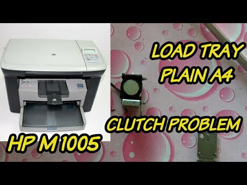 HP M 1005 Load Paper Then Press Ok    How To Resolve Load Paper Tray Error In Hp M 1005