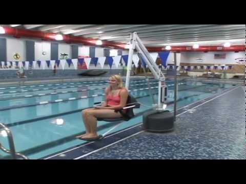 Eco tech pool service ada chair lifts youtube - Swimming pool wheelchair lift law ...