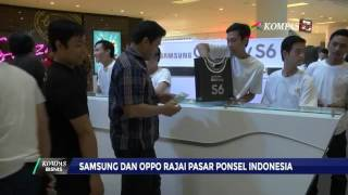 Samsung dan Oppo Rajai Pasar Ponsel Indonesia