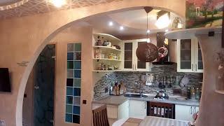 видео Дизайн трехкомнатной квартиры в хрущевке