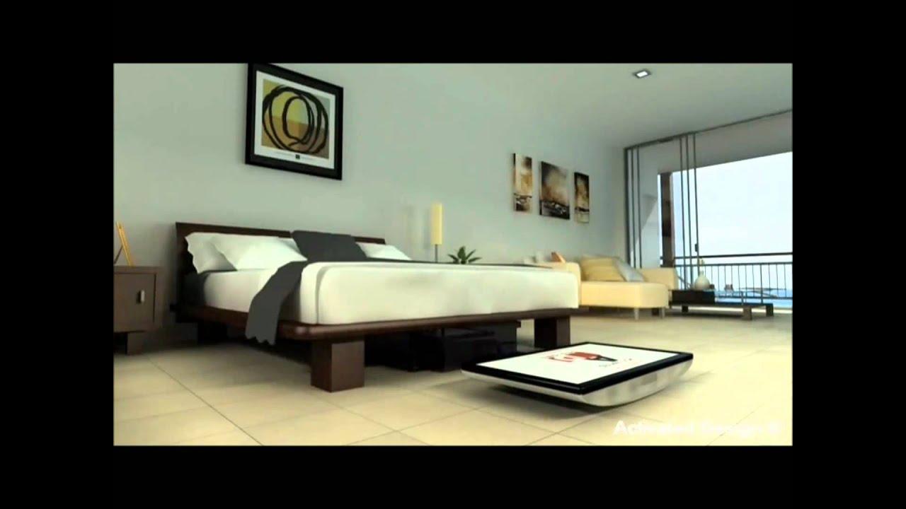 Motorized under bed TV lift - YouTube