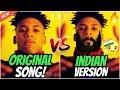 POPULAR RAP SONGS vs INDIAN REMIXES!