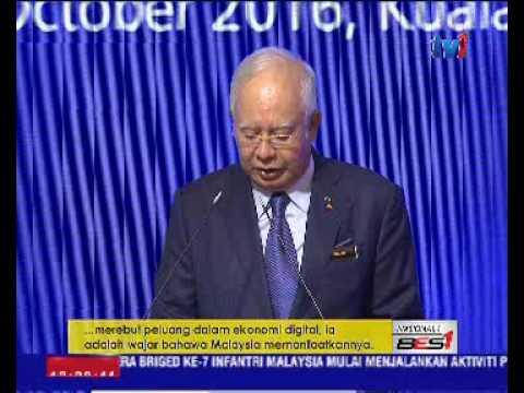 MALAYSIA TERIMA FAEDAH BESAR EKONOMI DIGITAL - DATUK SERI NAJIB RAZAK [26 OKT 2016]