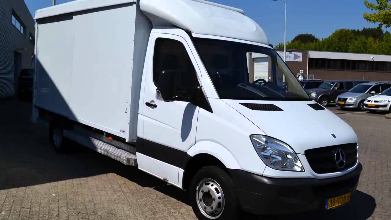 Mercedes benz sprinter 511 cdi automaat koffer airco for Mercedes benz 950