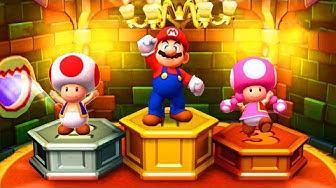 Maio Party Star Rush - Twins Battle - Mario vs Luigi vs Toad vs Toadette