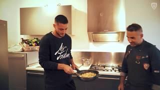 In cucina con i ragazzi della Primavera