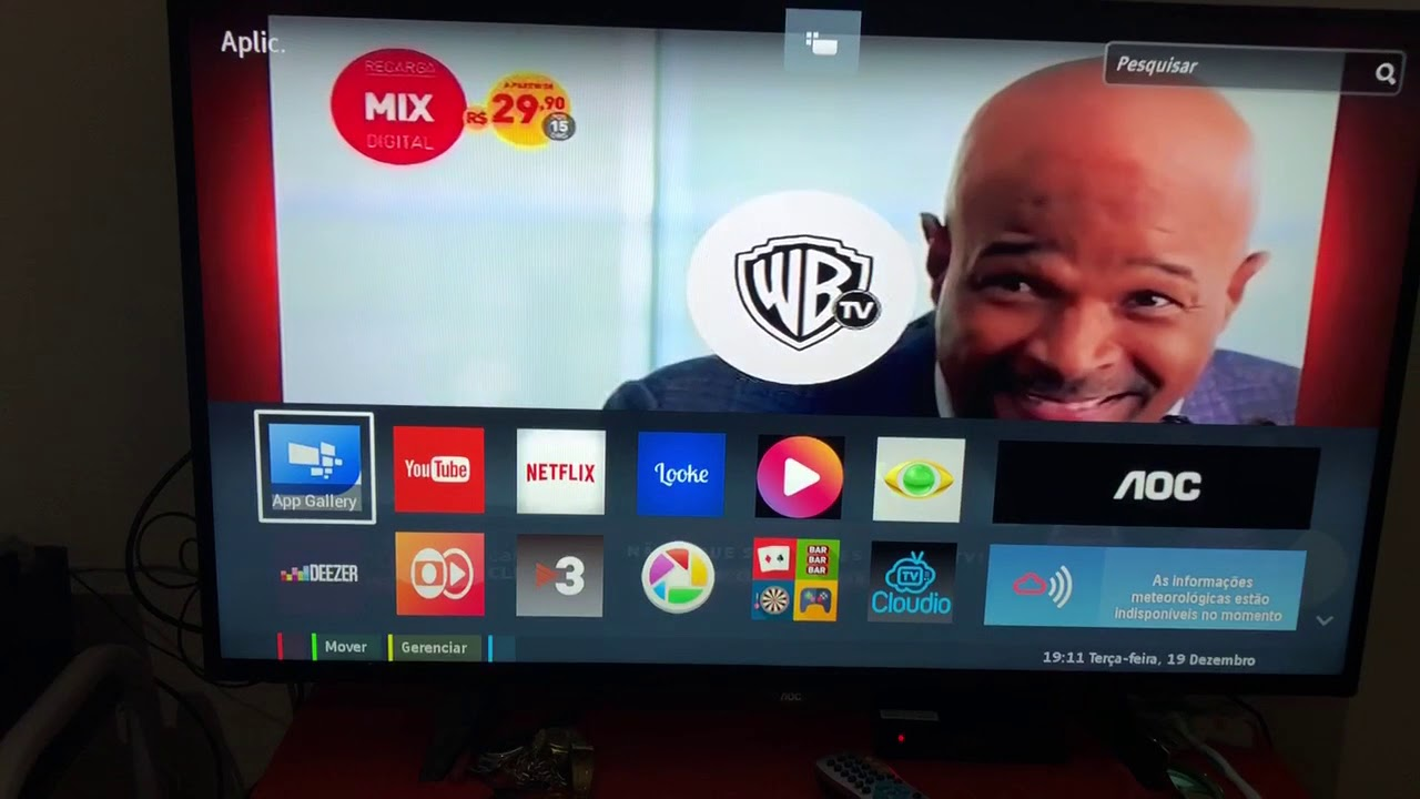 Smart Tv AOC Modelo LE43S5970 Vídeo N° 2