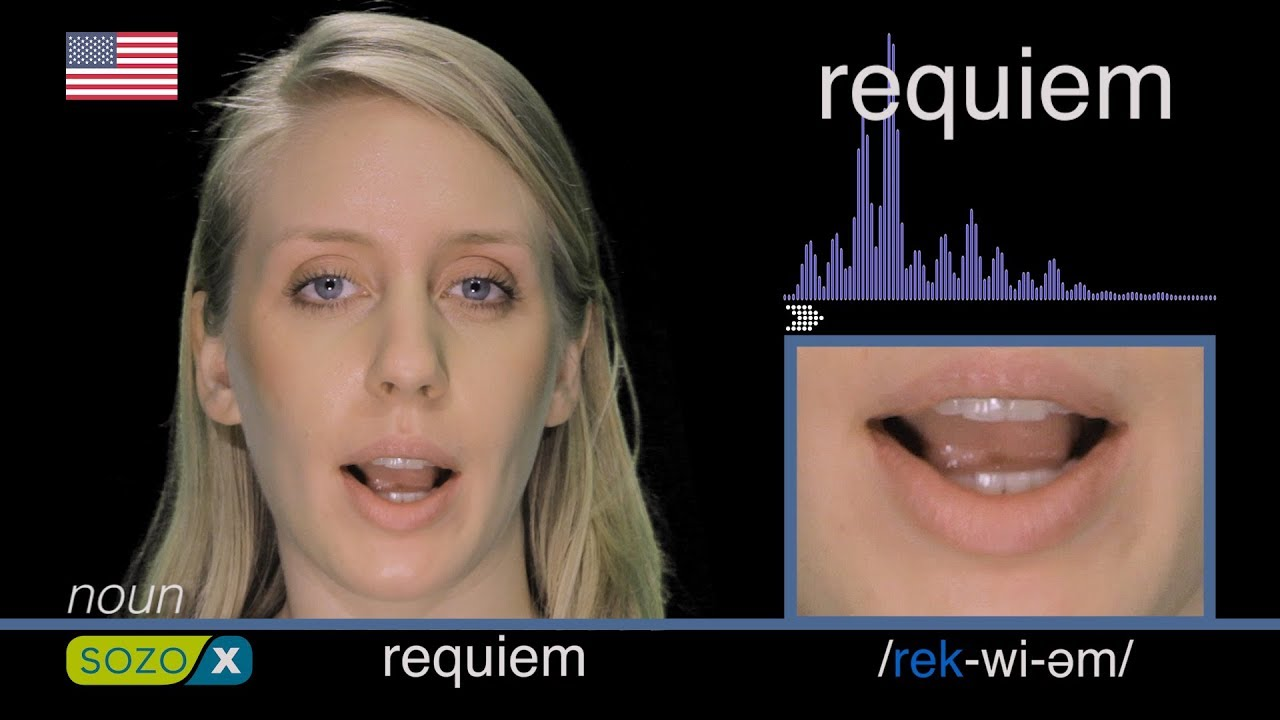 How To Pronounce REQUIEM like an American - English Pronunciation