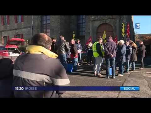 France 3 Iroise - Grève à la Poste à Carhaix