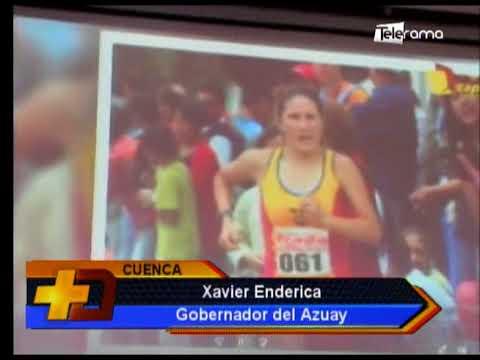 Marcha por día del Deporte Ecuatoriano